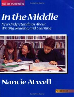 Highly recommended by fellow ETPER...In the Middle: New Understandings About Writing, Reading, and Learning by Nancie Atwell http://www.amazon.com/dp/0867093749/ref=cm_sw_r_pi_dp_cDI8vb1SQ9HFG