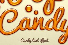 A sweet and fun photoshop candy text effect to make your design extra jelly. The…