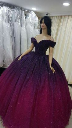 30 Ball Gown Wedding Dresses Fit For A Queen ❤ ball gown wedding dresses sweetheart neckline off the shoulder with floral saidmhamadofficia Pretty Quinceanera Dresses, Unique Prom Dresses, Beautiful Prom Dresses, Prom Dresses Blue, Pageant Dresses, Pretty Dresses, Quinceanera Party, Bridesmaid Dresses, Xv Dresses