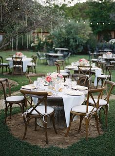 Malibu ranch wedding reception | Photo by Brandon Kidd | Read more - http://www.100layercake.com/blog/?p=78718