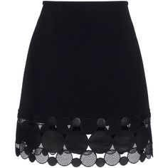 Christopher Kane Knee Length Skirt (14 950 UAH) ❤ liked on Polyvore featuring skirts, bottoms, christopher kane, faldas, saias, black, zipper skirt, knee high skirts, leather skirt and knee length leather skirt