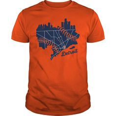 Detroit Map Baseball T shirt Hoodie Tank Top - Family T Shirts Detroit Map, Detroit Baseball, Sports Baseball, Cool T Shirts, Shop Now, Hoodies, Tank Tops, Shopping, Therapy