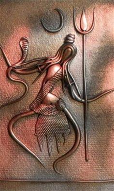 Dance of Shiva- art