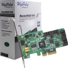 HighPoint RocketRAID 640 4 SATA Port PCI-Express 2.0 x4 SATA 6Gb/s RAID Controller