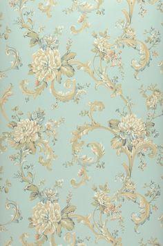 Aurora | Baroque wallpaper | Wallpaper patterns | Wallpaper from the 70s