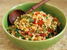 Some Recipe, Eat Smarter, Get In Shape, Fried Rice, Grains, Salads, Good Food, Healthy Recipes, Healthy Food