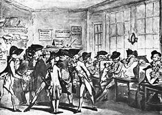 The French Coffee House in London, Second Half of the Eighteenth Century French Coffee, Georgian Era, Coffee Cafe, Coffee Shops, Vintage London, Coffee Gifts, 17th Century, Painting, Business News