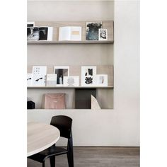 Norm Architects creates workspace for Kinfolk magazine in Copenhagen ❤ liked on Polyvore featuring home, home decor and small item storage
