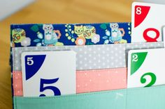 The Card Kitty (card holder for playing card games) - free sewing tutorial
