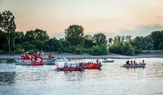 Bild zu: Badeunfälle: DLRG und Polizei warnen vor Baden in Main und Rhein - Bild 1 von 1 - FAZ