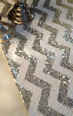 Inspiration Boards, Table Runners, Animal Print Rug, Special Events, Chevron, Diy And Crafts, Dream Wedding, Table Settings, Sweet Home