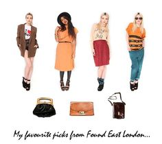 Amazing vintage fashion from Found East London - perfect for fashion bloggers!