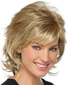 Medium Length Hair With Bangs And Layers Pictures 1 | LONG ...