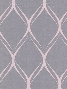 Gustav Purple Geometric Wallpaper | AmericanBlinds.com