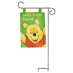 Disney Winnie The Pooh Garden Flag