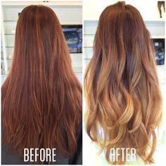 These dark auburn balayage truly are beautiful. Light Auburn Hair, Hair Color Auburn, Brown Hair Colors, Dark Auburn, Auburn Hair Balayage, Hair Color Balayage, Hair Highlights, Balayage Hairstyle, Permed Hairstyles