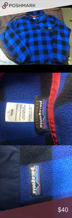 Patagonia Synchilla Men's Large 10/10 New without tags. Too big for me and would love to see it go to a good home. Patagonia Sweaters Zip Up