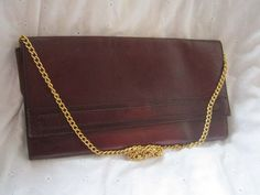 8eb4be1913df2 True vintage 70s leather clutch shoulder bag bag. Vintage  TaschenLederVintage ...