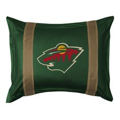 Minnesota Wild Standard Pillow Sham, Green