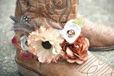 A little bit country. bracelet for your cowboy boots. vintage. hippy. boho only 1 left for sale. $54.00, via Etsy.