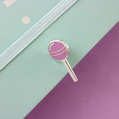 Lollipop glazuur Pin / / voedsel pin, revers speld, harde geëmailleerde pin / / EP095