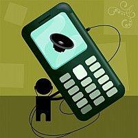 Free Mobile phone Illustration