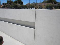 Michael Heizer's Levitated Mass - Handrail Detail