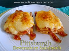 Pittsburgh Devonshire Sandwich ~ Pittsburgh PA #SundaySupper