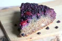 double berry upside down cake from baker by nature