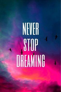 Never Nunca dejes de soñar
