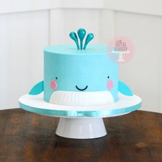 Whale Cakes, Custom Cakes, Bakery, Desserts, Places, Food, Personalized Cakes, Tailgate Desserts, Deserts