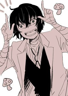 One more crazy mushroom Dazai added to my collection