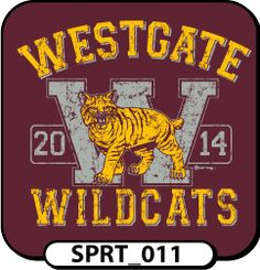 Get this weathered look for your next order of custom spirit t-shirts! All of our templates can be modified to suit your need! We can even add each student's unique signature for no extra cost! spiritwear.com
