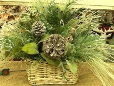Winter artificial arrangement