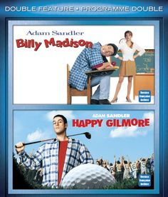 Billy Madison / Happy Gilmore Double Feature (Bilingual)  [Blu-ray]