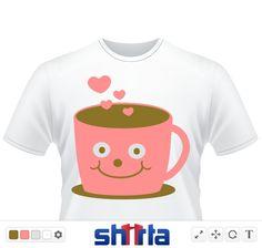 Tasse, Tassen, Kaffee, Tee,  Kakao, Becher, Büro, Herzen, Gesicht