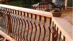 Metal Railings for Decks - Bing Images