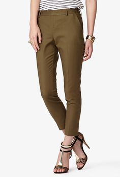 Essential Tapered Trousers | FOREVER21 - 2042994102