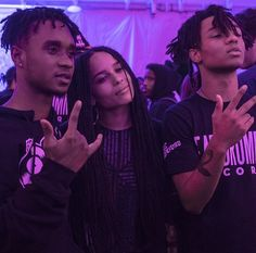 Swae Lee, Slim Jimmy (from Rae Sremmurd) and Zoë.SXSW 2015