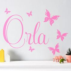 The Colorful Butterflies Wall Stickers Plant Wall Stickers - Wall decals butterfliespatterned butterfly wall decal vinyl butterfly wall decor