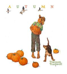 Autumn - Norman Rockwell