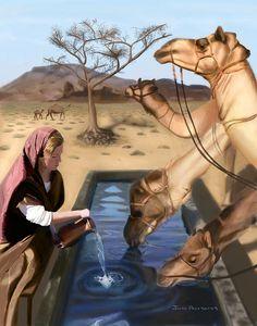Rebekah waters camels.