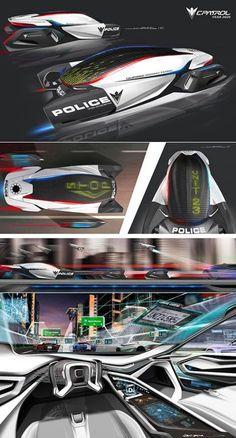 Pocket : L.A. Auto Show Design Challenge: Auto Industry's Top Designers Envision Cop Car of the Future