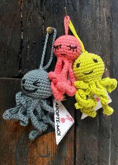 3 petites pieuvres - Anisbee