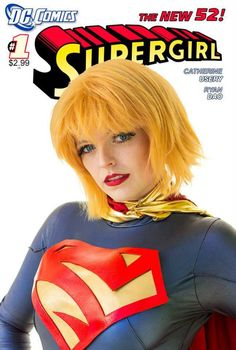PandaCat Cosplay as Supergirl