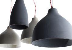mehr Beton-Lampen