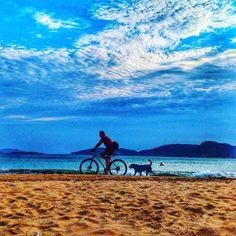 Ahhh o verão  . É tempo de jogar as pernas pro alto e curtir esse marzão. Essa foto é do nosso feriado em Búzios em outro/17 na praia de Geribá. Já está na hora de voltar lá e conhecer as outras praias. . . #buzios #riodejaneiro #buziosbeach #buziostop #brasil #rj #errejota #buziosrj #praia #buzios #geriba #errejota #021 #praia #beach #sun #mar #ocean #sunny #litoral #amopraia #trip #travel #travelblog #passionpassport #viajar #viagem #lovetotravel #brazil #bike #dog