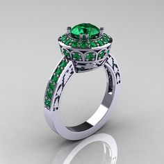 Items similar to Classic White Gold Carat Pink Sapphire Green Topaz Wedding Ring, Engagement Ring on Etsy Brautring Sets, Saphir Rose, Sapphire Wedding Rings, Aquamarine Wedding, Green Topaz, White Gold Rings, Beautiful Rings, Bridal Jewelry, Creations