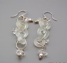 A personal favorite from my Etsy shop https://www.etsy.com/listing/279169668/lovely-frosted-vintage-glass-beads-and