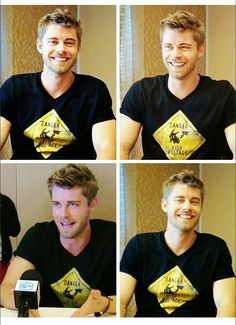 luke mitchell on sdcc